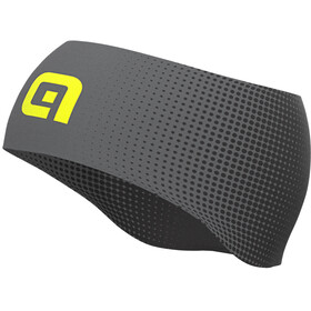 Alé Cycling Dots Summer Banda para la Cabeza Hombre, black/grey/fluo yellow
